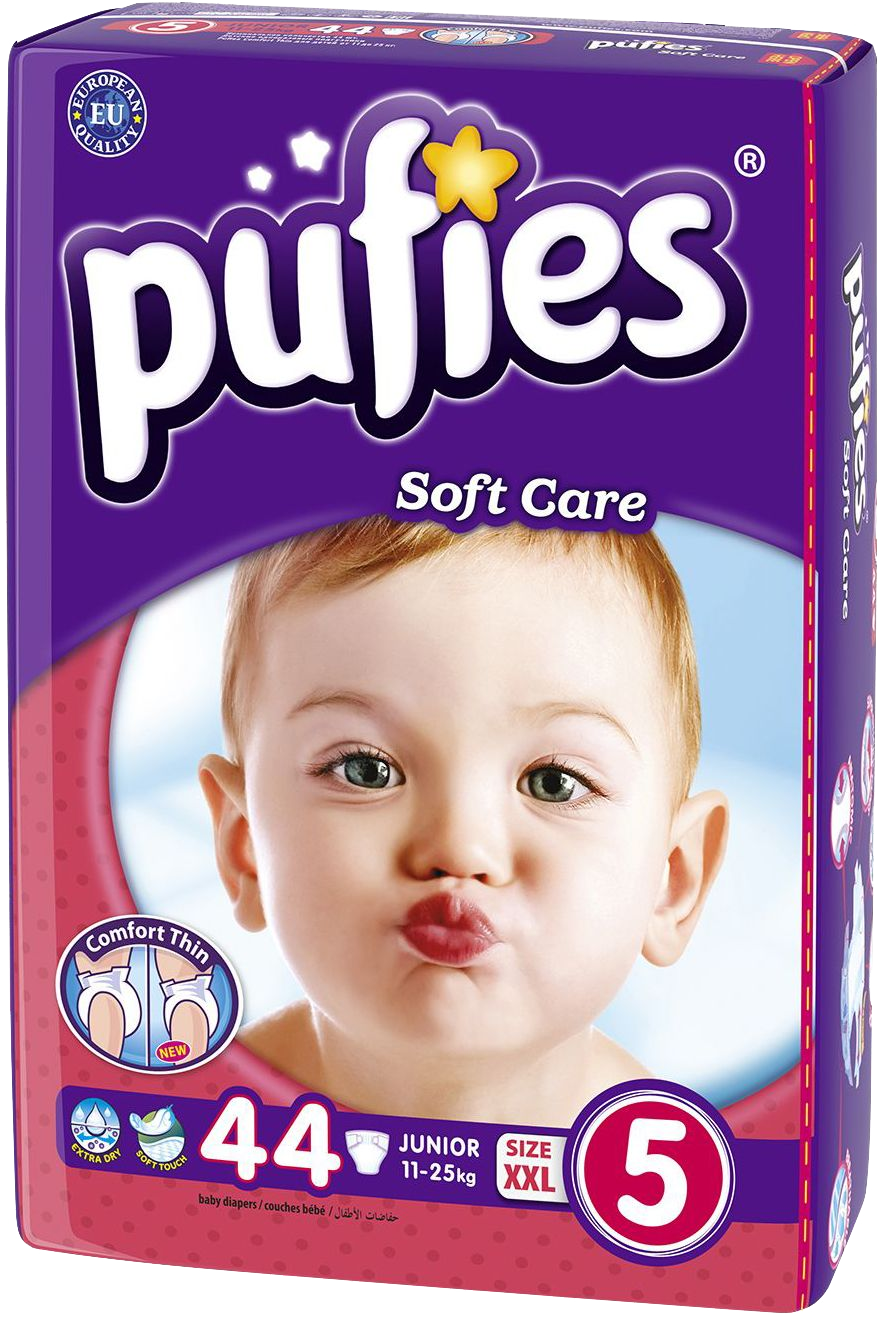 ZAP - Pufies Soft Care 5 Junior Value Pack ce9771dc9c8