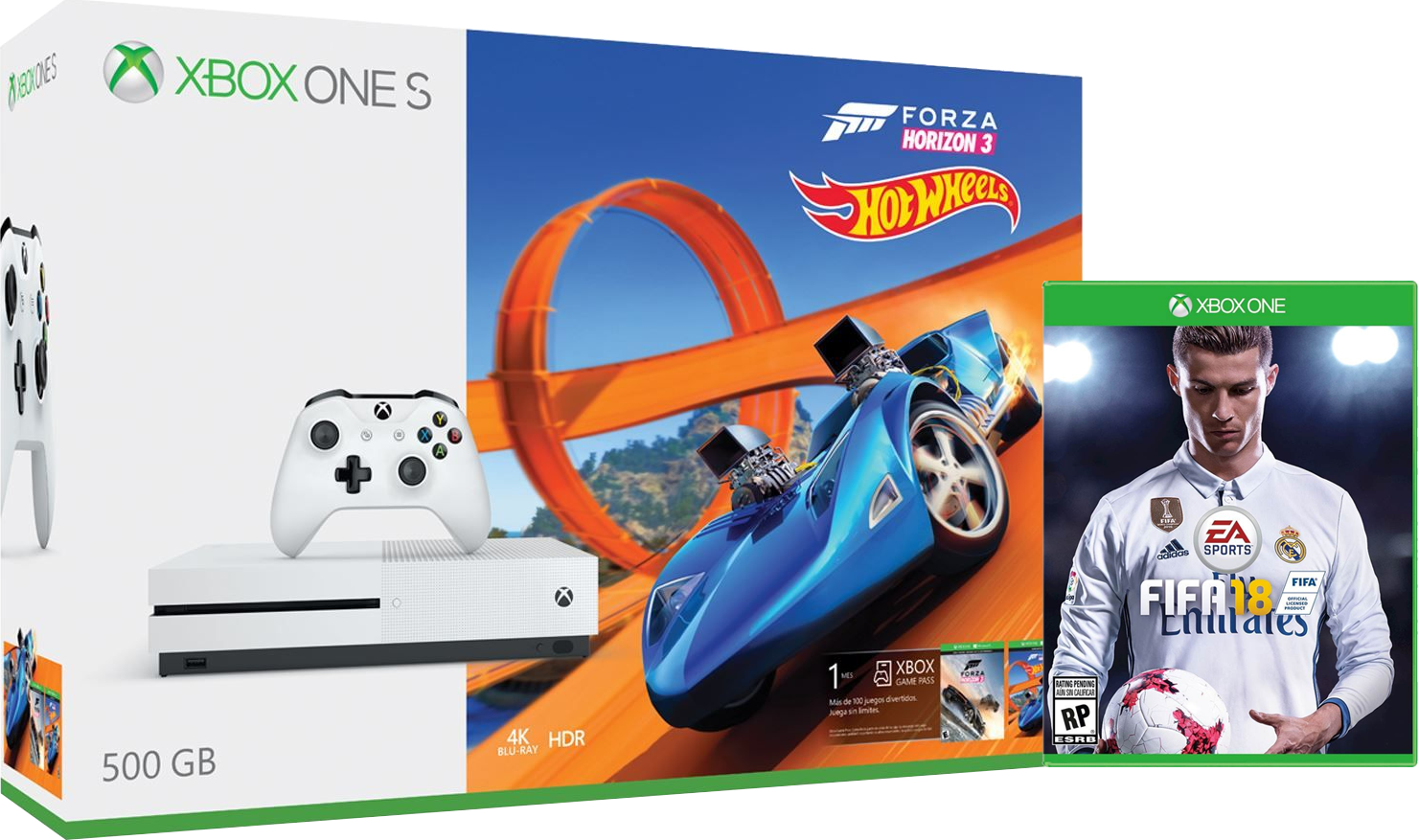 zap microsoft xbox one s forza horizon 3 hot wheels fifa 18. Black Bedroom Furniture Sets. Home Design Ideas